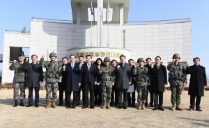 손학규 대표 해병 2사단 격려방문