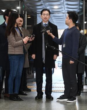 김경수 지사 항소심 출석
