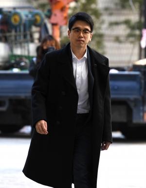 CJ 이선호 항소심 공판 출석