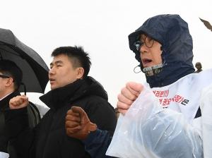 조선3사 하도급갑질 피해대책위원회 기자회견