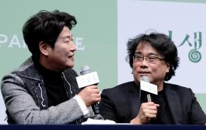 영화 '기생충' 기자회견
