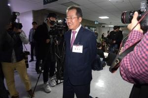 미래통합당 총선 공천 신청자 면접 심사보는 홍준표