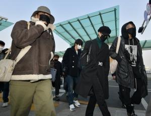 방탄소년단(BTS) 출국
