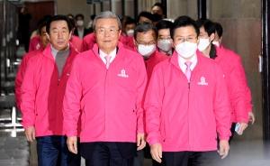 선거대책회의 참석한 김종인