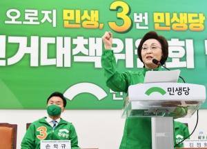 민생당 중앙선거대책위원회 발대식