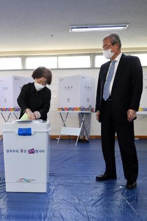 김종인 투표