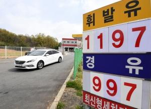 기름값 대폭락