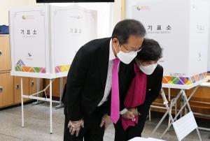 대구 수성구을 홍준표 무소속 후보 투표