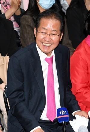 제21대 총선 대구 수성구을에서 당선된 홍준표