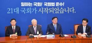 김태년 예방한 손경식 경총 회장