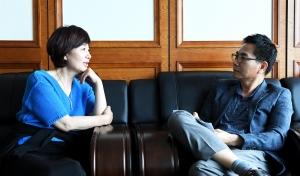 방송인 김혜영 인터뷰