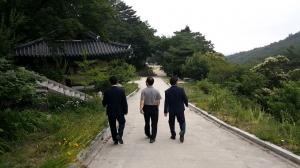 김태년-주호영 화암사 만남