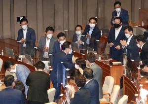 주호영 국민의힘 원내대표 교섭단체 대표연설