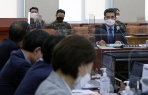 연평도 공무원 피습, 국회 찾은 국방부 장관