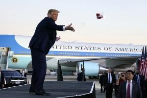 플로리다에서 선거유세 시작한 트럼프 대통령