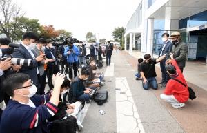 하태경 국민의힘 의원 해수부 피격 사망 공무원 친형 기자회견