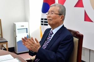 문재인 대통령 신년인사회 참여한 김종인