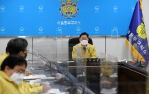 모두발언하는 박범계 신임 법무부장관