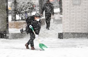 눈이 눈 앞을 가려, 서울을 다시 또 '설국'