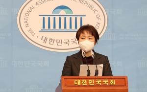 이언주 해저터널 기자회견