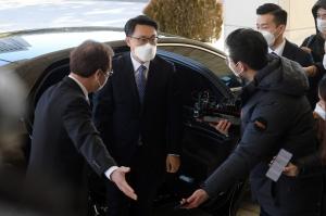 김진욱 공수처장 대검 방문