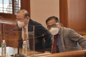 임성근 전 부산고법 부장판사의 탄핵 심판 변론 준비기일
