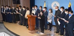 민주당 초선 81명 공동입장문 발표