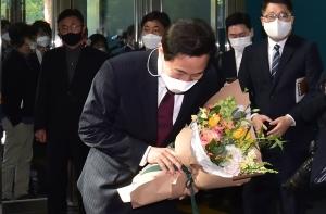 오세훈 서울시청 첫 출근