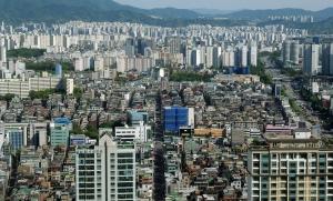 롯데월드타워에서 바라본 서울 시내