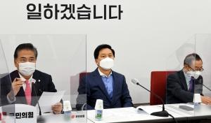 국민의힘 백신협력 방미대표단 결과 보고 기자회견