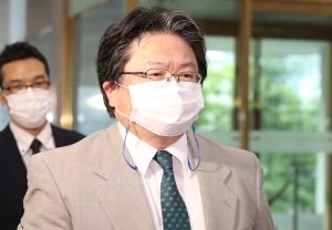 외교부로 초치된 소마히로히사 일본대사관 총괄공사