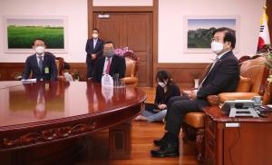 구자열 박병석 국회의장 예방