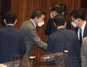 본회의, 송영길 '취임 후 첫 교섭단체 대표연설'