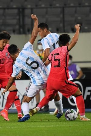 올림픽 축구대표팀 아르헨티나 평가전