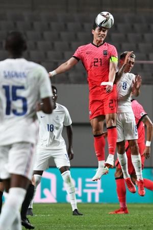 올림픽 축구대표팀 프랑스 평가전