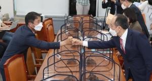 언론중재법 여야 8인 협의체 첫 회의