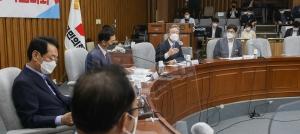 이재명 국민의힘 예산정책협의 참석