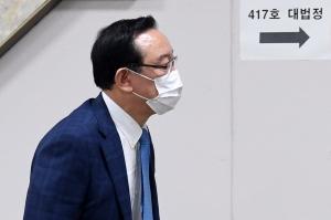 법원 출석하는 송철호