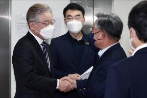 이재명 열린민주당TV 출연